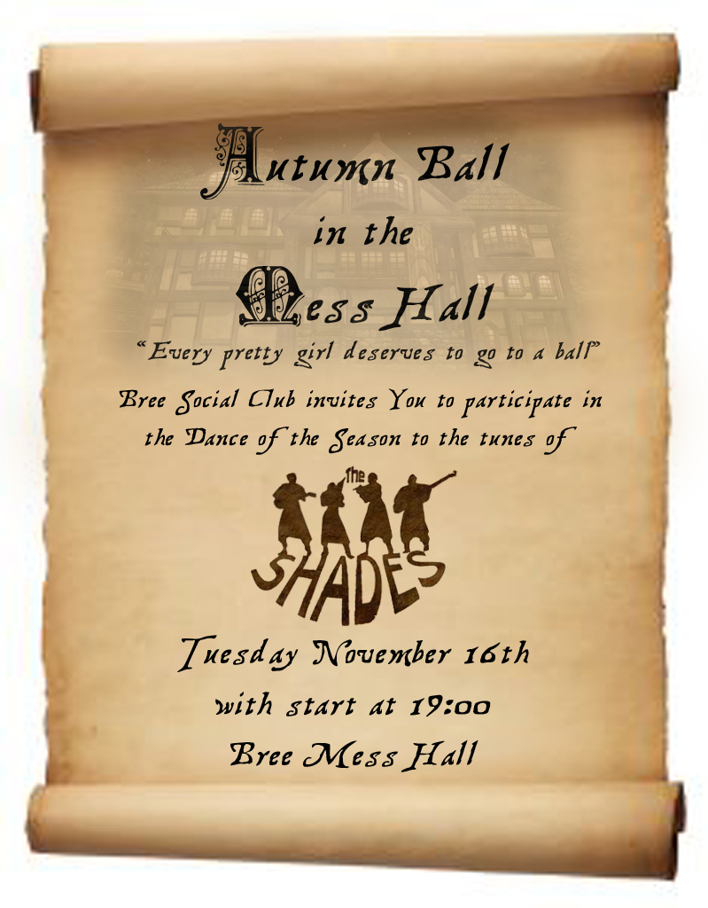 Autumn Ball In The Mess Hall The Laurelin Archives