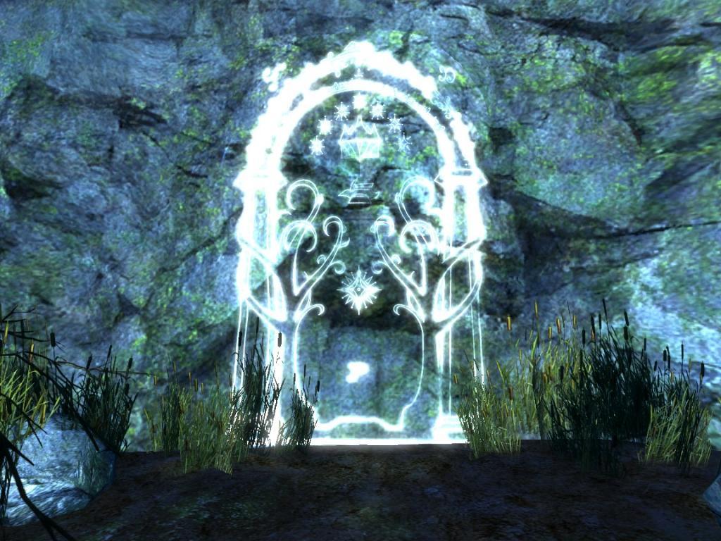\ The Doors of Durin Lord of Moria. Speak \u0027friend\u0027 and Enter!\  & The Doors of Durin Lord of Moria | The Laurelin Archives
