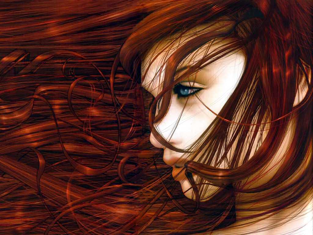 Девушки рыжие плачут #3